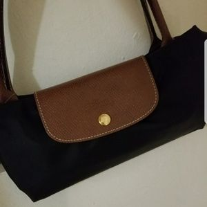 Longchamp large tote almost new black